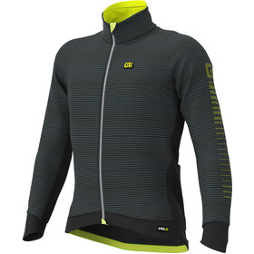 Alé Cycling Graphics PRR Thermo Road DWR Jack Heren, black/fluo yellow